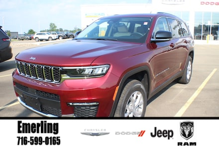 New 2021 Jeep Grand Cherokee L LIMITED 4X4 Sport Utility in Springville, NY