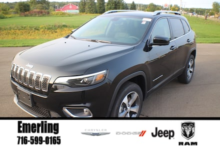 New 2020 Jeep Cherokee LIMITED 4X4 Sport Utility in Springville, NY