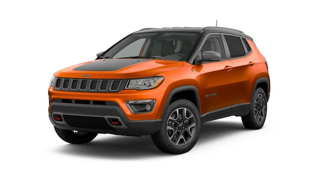 New 2019 Jeep Compass TRAILHAWK 4X4 Sport Utility in Springville, NY