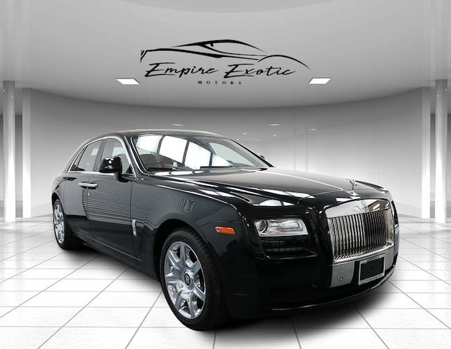 2012 Rolls-Royce Ghost *Rear Theatre Configuration* Sedan