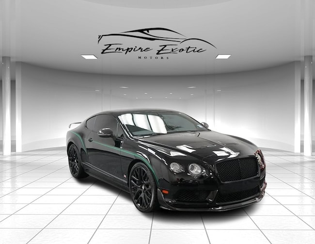 2015 Bentley Continental GT GT3-R Coupe