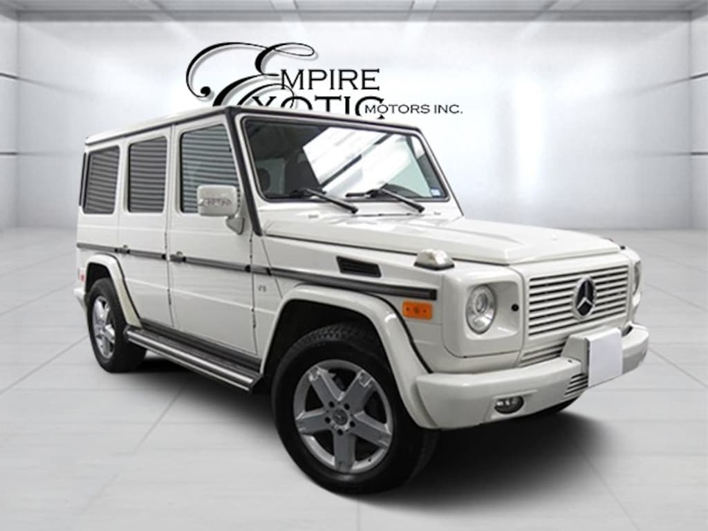 Arctic White 2008 Mercedes-Benz G-Class Base For Sale