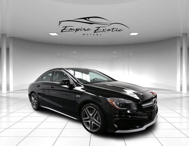 09731567c7a9 Night Black 2014 Mercedes-Benz CLA 45 AMG 4MATIC For Sale