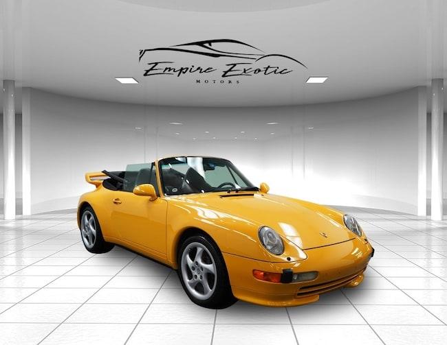 1996 Porsche 911 Carrera Convertible
