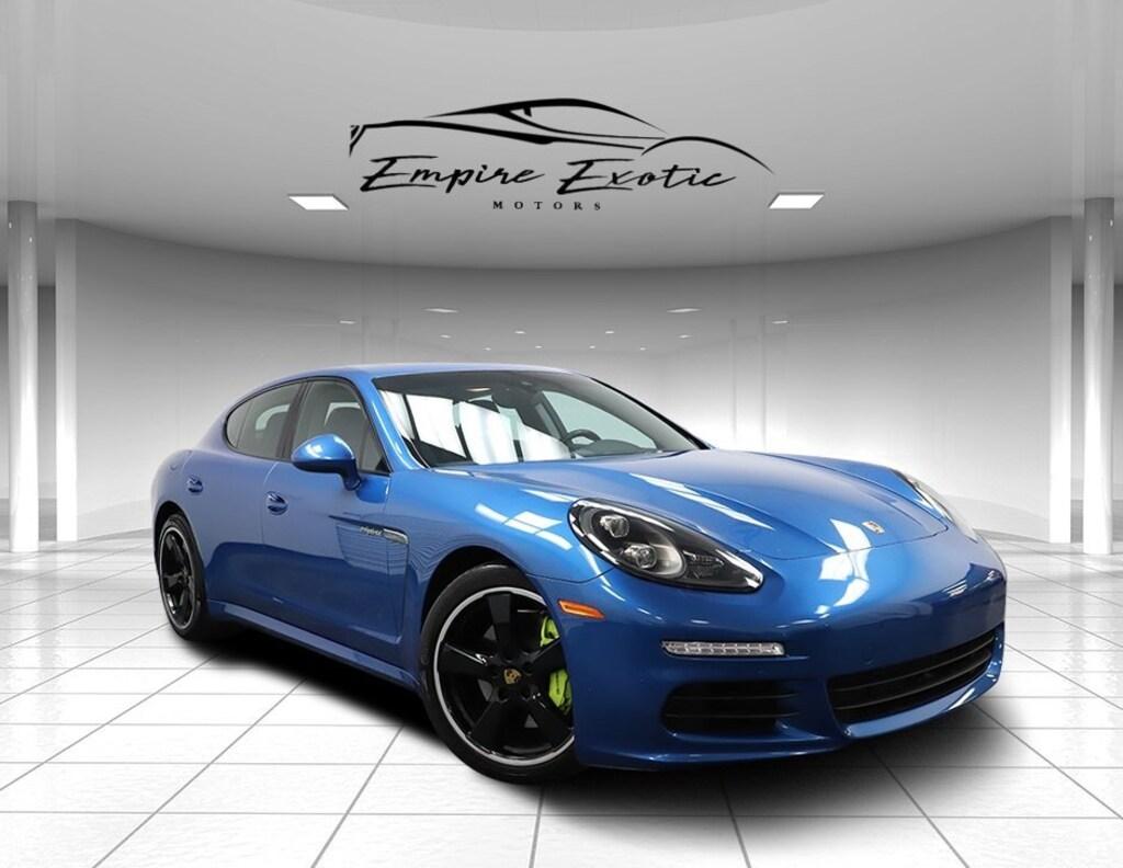 Sapphire Blue Metallic 2016 Porsche Panamera E Hybrid S For Sale