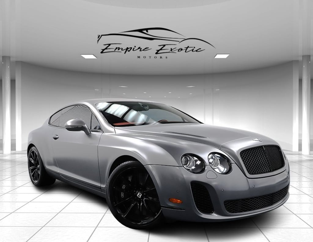 Light Satin 2010 Bentley Continental Supersports Supersports