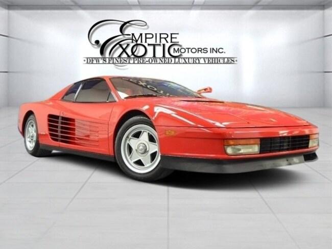 1986 Ferrari Testarossa Flying Mirror *Rare* Service Records* Coupe