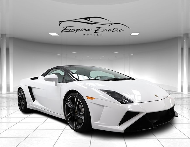 Bianco Canopus 2014 Lamborghini Gallardo Lp560 4 50th