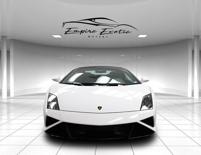 Bianco Canopus 2014 Lamborghini Gallardo Lp560 4 50th Anniversary