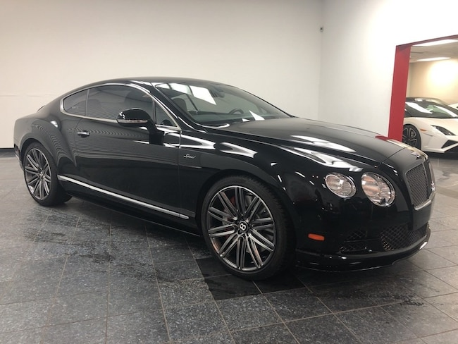 2015 Bentley Continental GT GT Speed Coupe