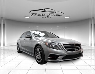 2014 Mercedes-Benz S-Class S 550 Sedan