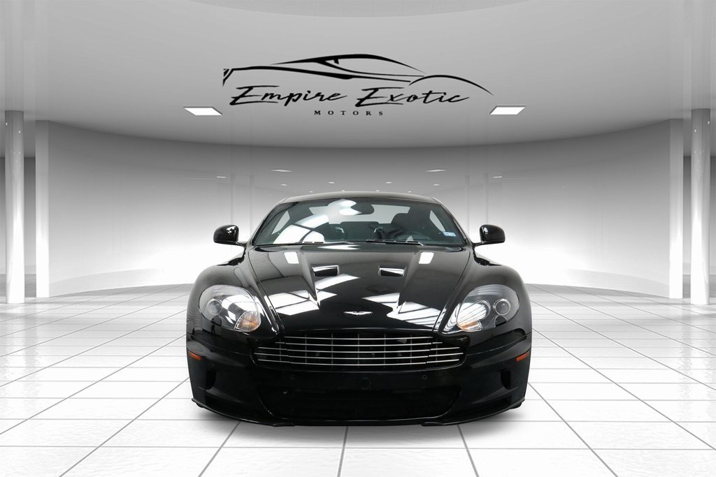 Carbon Black Metallic 2012 Aston Martin DBS Carbon Black For