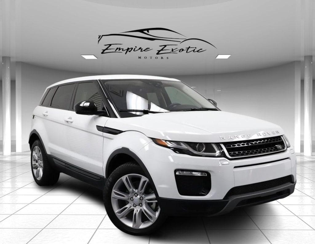 White 2016 Land Rover Range Rover Evoque Se For Sale