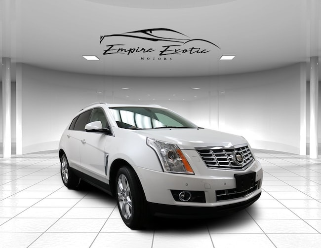Platinum Ice Tricoat 2014 Cadillac Srx Performance Collection For Sale