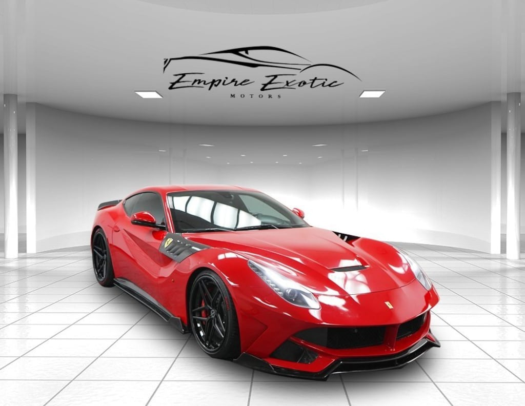 Red 2013 Ferrari F12berlinetta Base For Sale