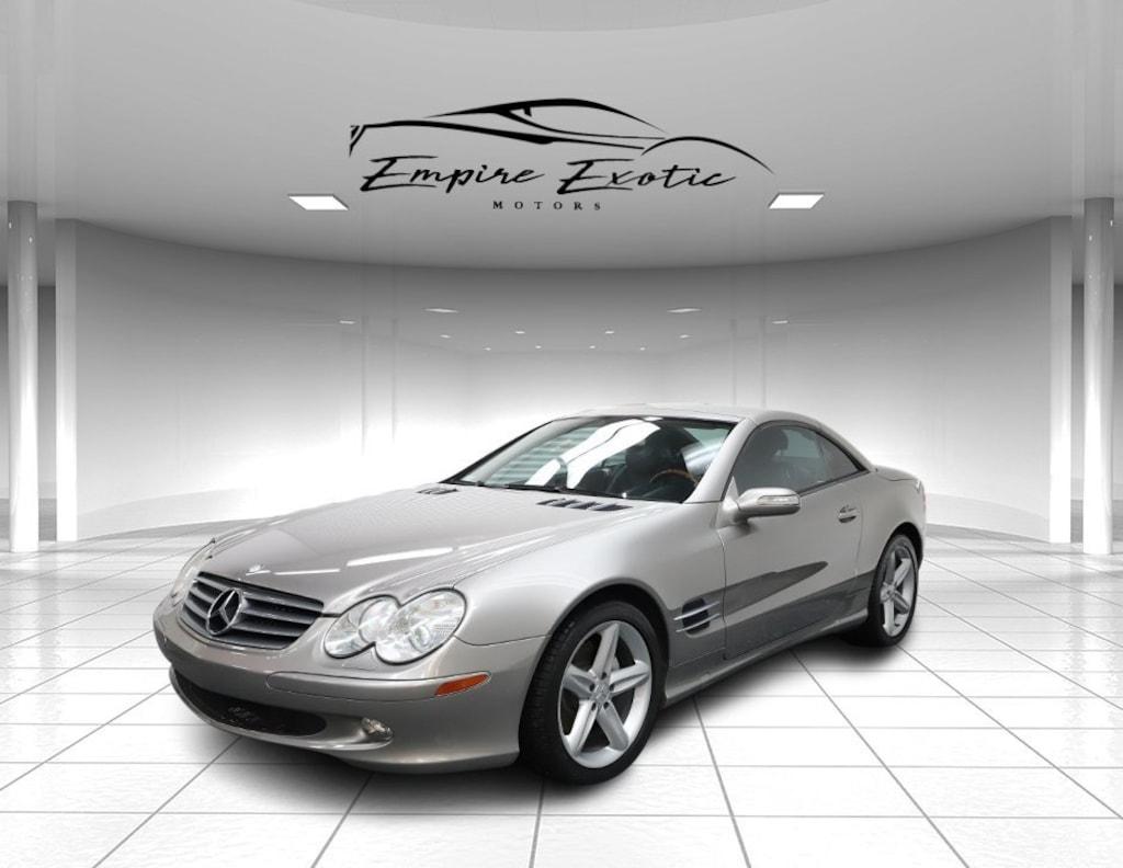 Gray 2005 Mercedes-Benz SL-Class Base For Sale