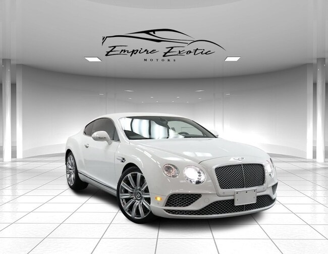 2016 Bentley Continental GT W12 *FACTORY WARRANTY| NEW BRAKES + ROTORS| DEALER Coupe
