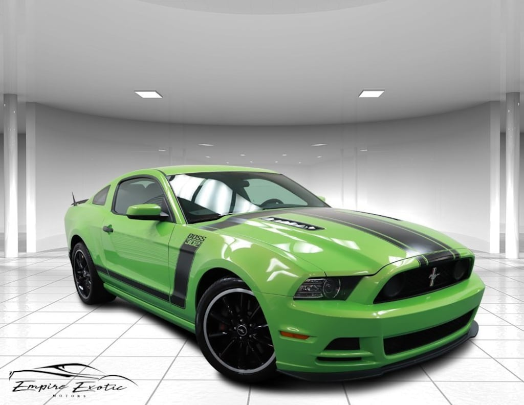 Gotta Have It Green Metallic Tri-Coat 2013 Ford Mustang Boss 302 For