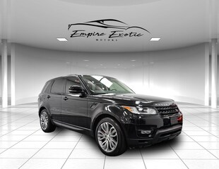 2015 Land Rover Range Rover Sport 5.0L V8 Supercharged SUV