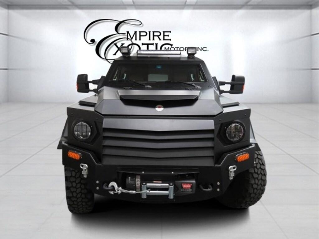 Matte Black 2015 Terradyne Gurkha Civillian Edition *Armored