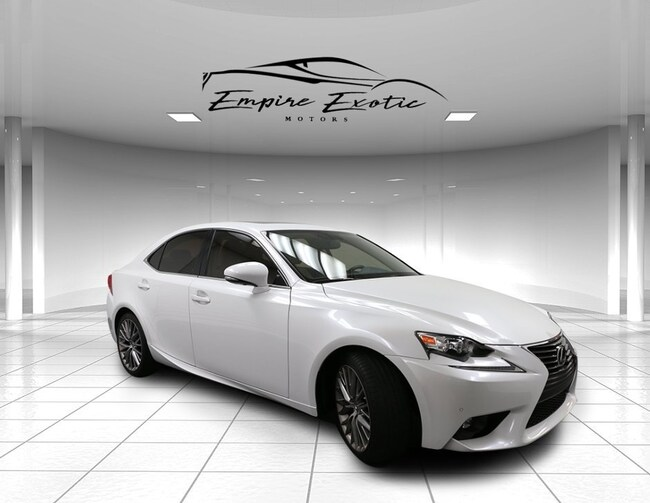 2015 LEXUS IS 250 *PREMIUM PCK / BLIND SPOT /INTUITIVE PARKING ASSIS Sedan