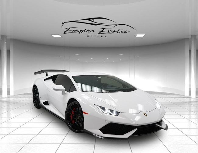 White 2015 Lamborghini Huracan Lp610 4 For Sale