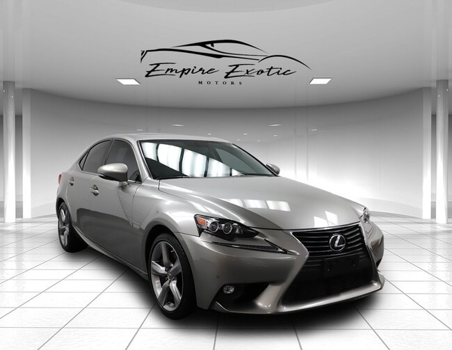 2015 LEXUS IS 350 *NAVIGATION, PREMIUM PACKAGE* Sedan