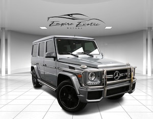 2015 Mercedes-Benz G-Class G 63 AMG 4MATIC W/DESIGNO PACKAGE