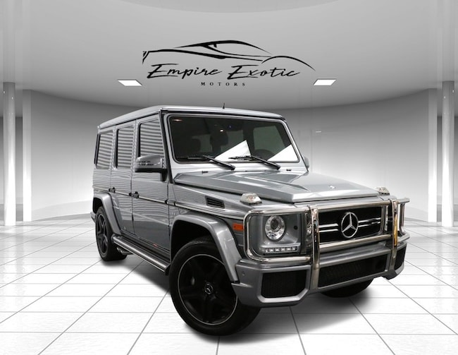 2015 Mercedes-Benz G-Class G 63 AMG 4MATIC W/DESIGNO PACKAGE SUV
