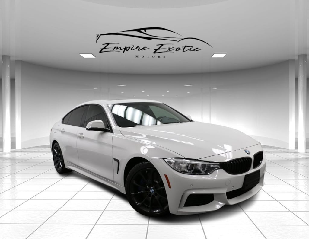 Alpine White 2017 BMW 440i M SPORT PACKAGE For Sale