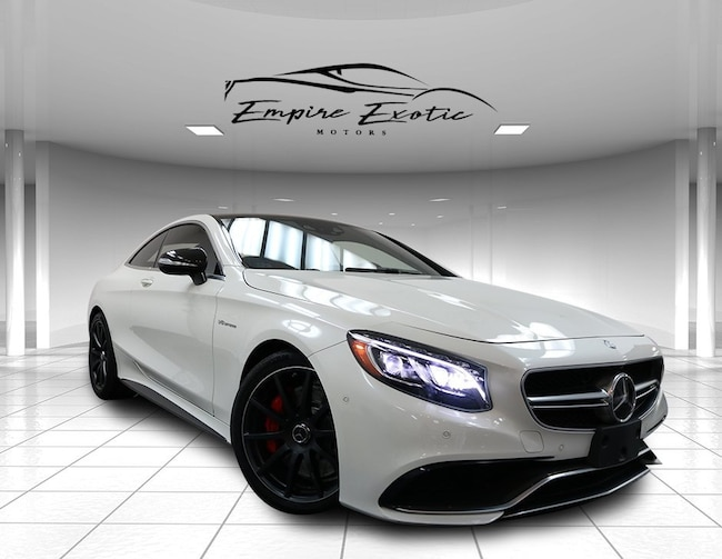 2015 Mercedes-Benz S-Class S 63 AMG 4MATIC Coupe
