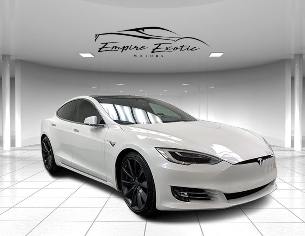 Pearl White Multi Coat 2017 Tesla Model S 90d For Sale