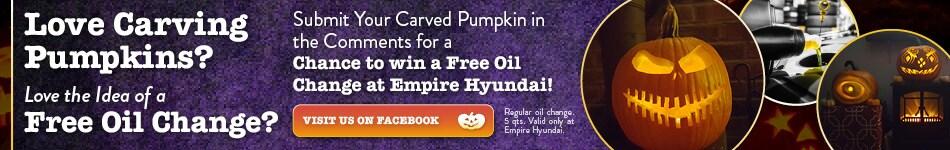 October 2020 Pumpkin Carving Contest