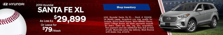 19 Santa Fe XL April