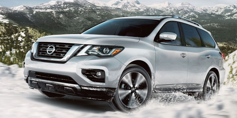 Check out the awesome three-row 2020 Nissan Pathfinder in Lakewood CO