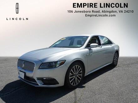 2017 Lincoln Continental Select Select  Sedan