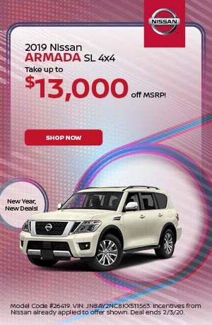 2019 Nissan Armada - January Offer