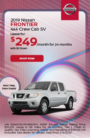 2019 Nissan Frontier - January Offer
