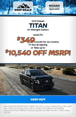 2019 Nissan Titan - December Offer
