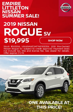 Nissan Rogue Summer Special - June Offer
