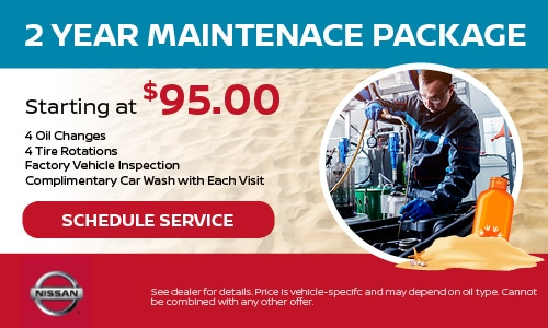Two Year Maintenance Package