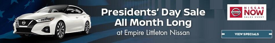 Presidential Deals at Empire Littleton Nissan