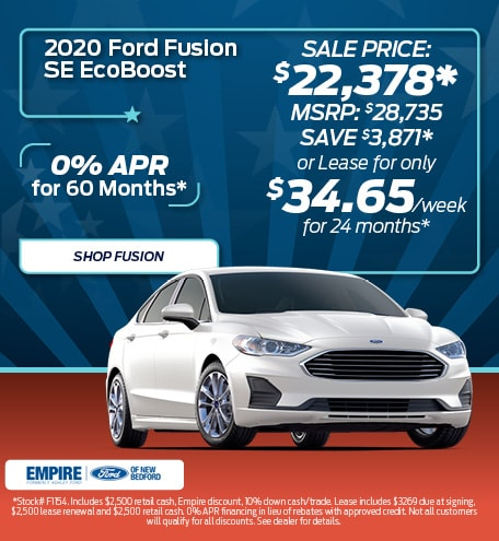 2020 Ford Fusion SE EcoBoost