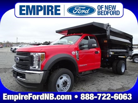 2019 Ford F-550 Chassis XL Dump Truck Leftover DRW Truck
