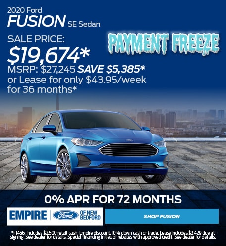 September - Ford Fusion