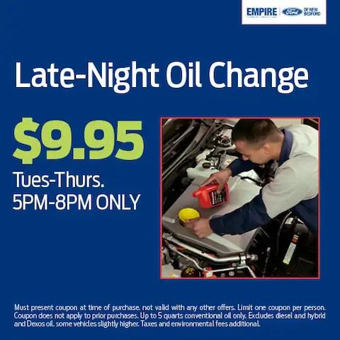 Late Night Oil Change