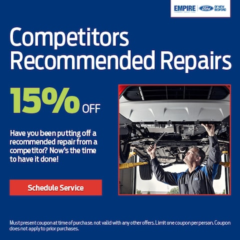 Competitors Recommended Repairs