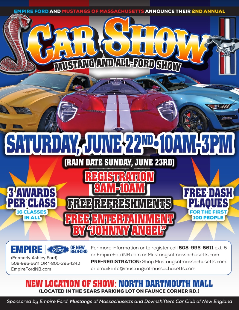 Mustang Car Show | Empire Ford of New Bedford