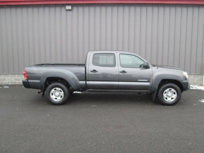 Certified Pre-Owned 2015 Toyota Tacoma 4x4 V6 Truck Double Cab For Sale Oneonta, NY
