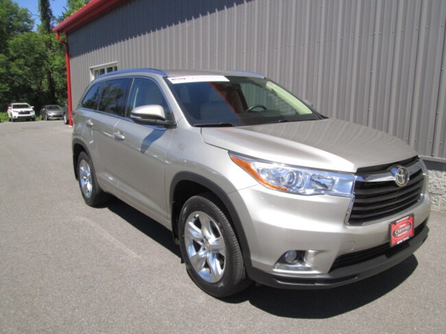 Certified Pre-Owned 2015 Toyota Highlander SUV For Sale Oneonta, NY